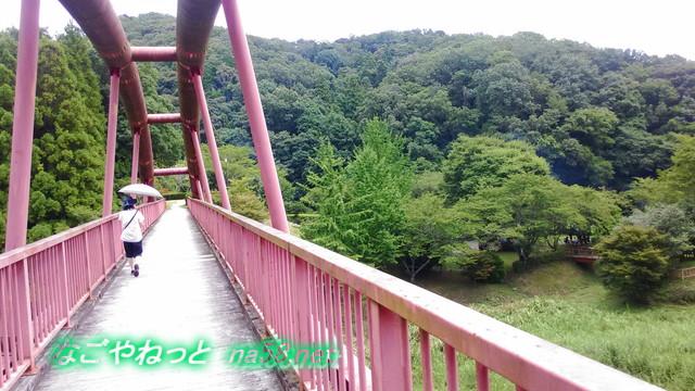 愛知県豊田市王滝渓谷「王滝湖かけ橋」