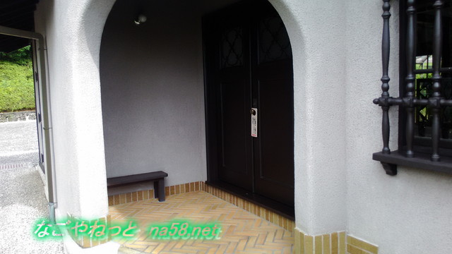 旧豊田喜一郎邸の玄関