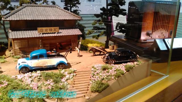 トヨタ鞍ヶ池記念館のジオラマ30分の一