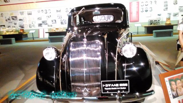 トヨタ鞍ヶ池記念館に展示されている創業時のAA型