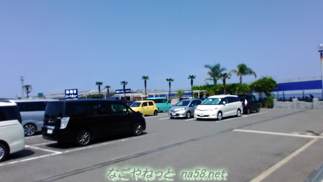 魚太郎の浜焼きバーベキュー場の無料駐車場