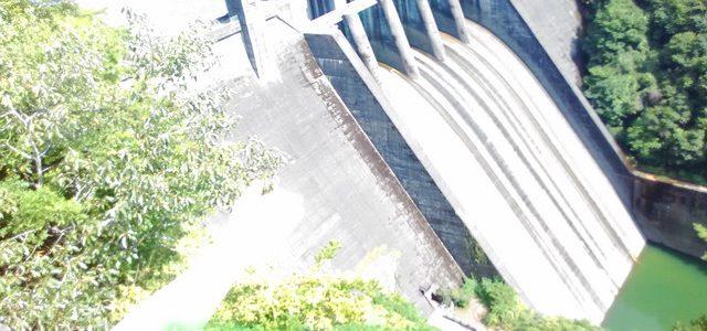 新丸山ダム建設中が見られる丸山ダム展望台・景観(岐阜県八百津町)