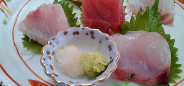 伊豆下田のランチは「金目亭」で・三種のキンメダイ料理を漁師さんが料理