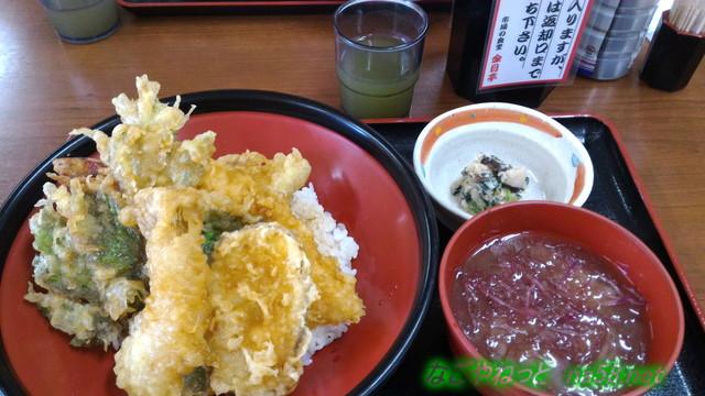 伊豆下田の金目亭でキンメダイの天丼