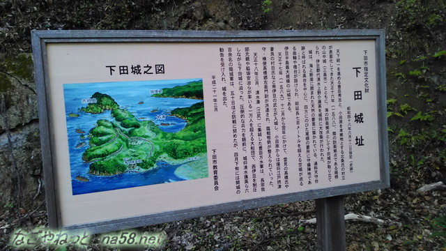 静岡県下田市「下田公園」下田城址の解説