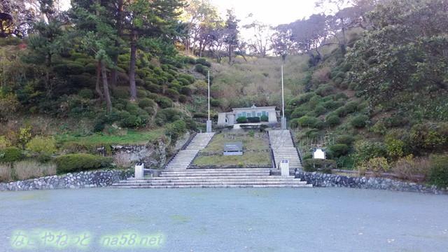 静岡県下田市「下田公園」の開国記念広場