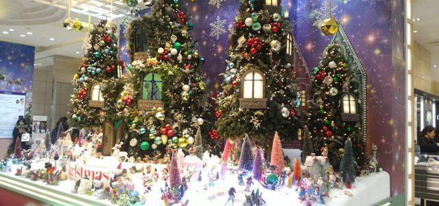 名古屋駅前とタカシマヤのイルミネーション2017年12月25日まで