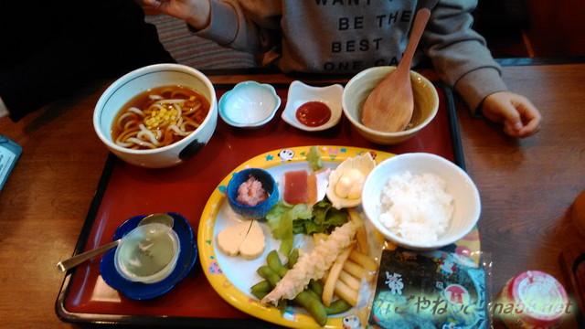 サガミ(名古屋市北区志賀公園店)ランチ・お子様キッズ手巻き寿司セット