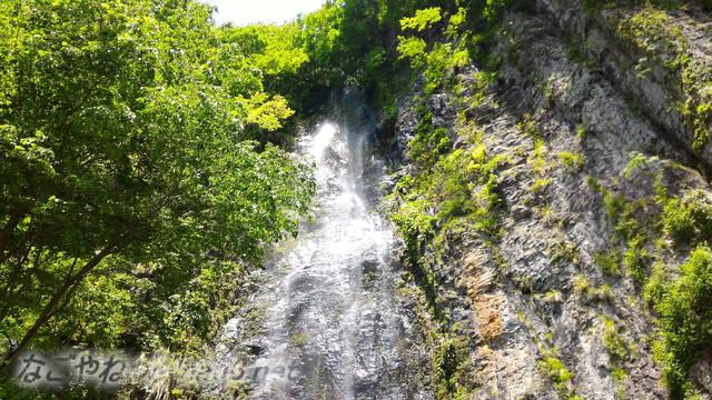 岐阜県白川町の東海の名瀑「阿弥陀ケ滝」滝の上
