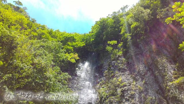 岐阜県白川町の東海の名瀑「阿弥陀ケ滝」滝の上流れのはじめ