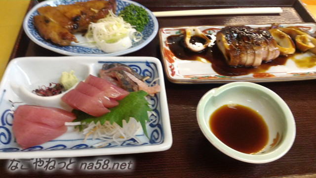 池田温泉新館の二階のレストラン単品を注文
