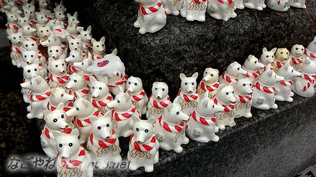 名古屋市西区いぬ神社のお守りの子犬