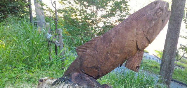 切り株動物園とイビデンの森は道の駅「星のふる里ふじはし」で散策(岐阜県揖斐郡)