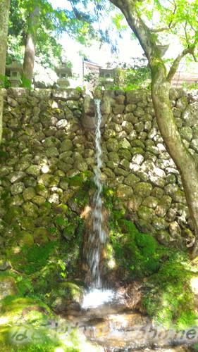 甘南美寺(岐阜県山県市長滝)の滝