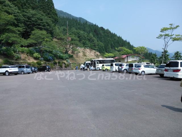 21世紀の森公園(岐阜県関市)駐車場