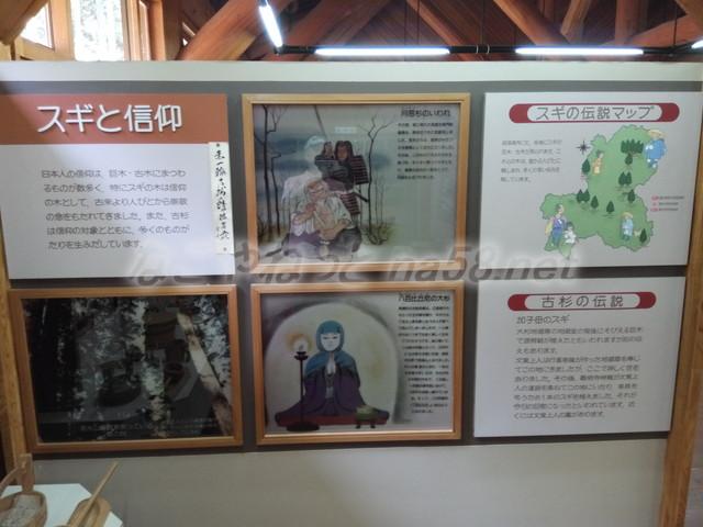 21世紀の森学習展示館・スギと信仰(岐阜県関市板取)