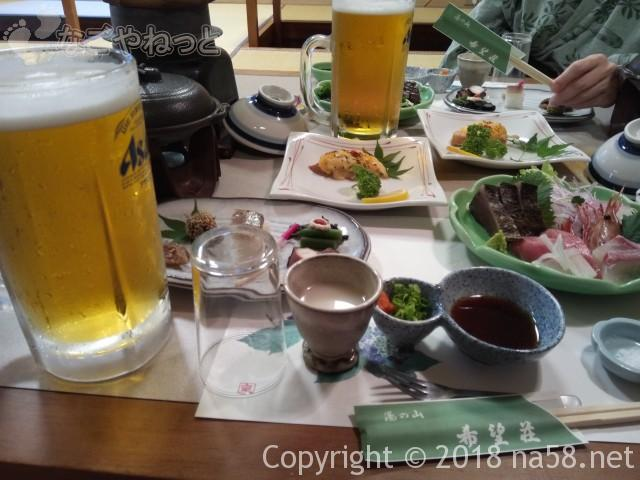 湯の山温泉/希望荘に宿泊/夕食とバイキングの体験口コミ(三重県菰野町)