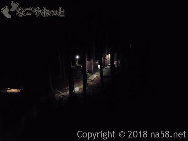 三重県菰野町「希望荘」湯けむりの里へ、「望山の湯」付近