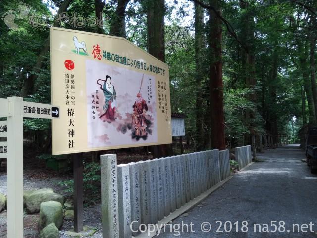 椿大神社参道にある大絵馬(三重県鈴鹿市)