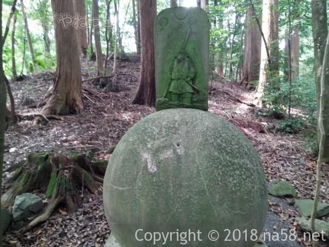 椿大神社参道にある石碑(三重県鈴鹿市)