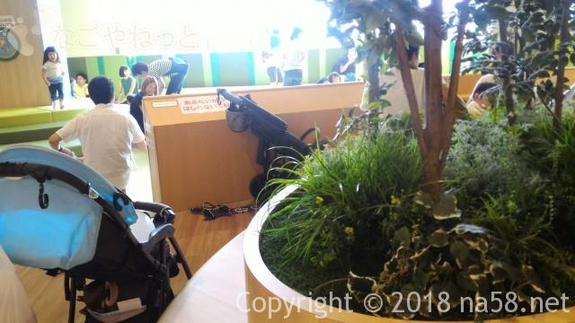 愛知県日進市プライムツリーのボーネルンドのとなりの赤ちゃん用無料スペース