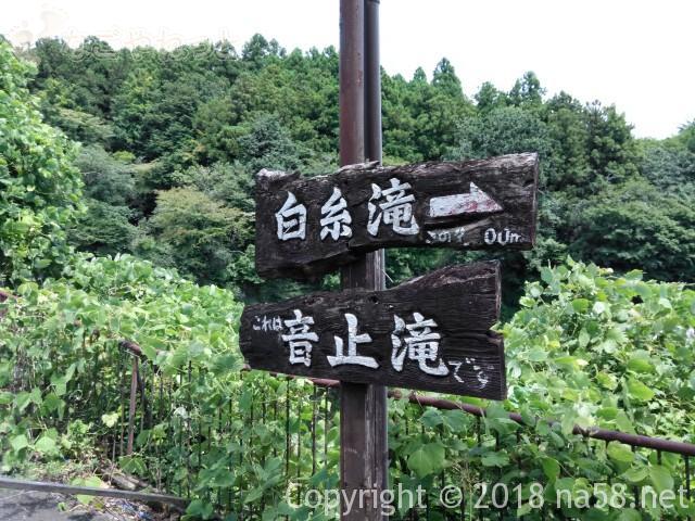 静岡県の富士宮市「白糸の滝」と「音止の滝」