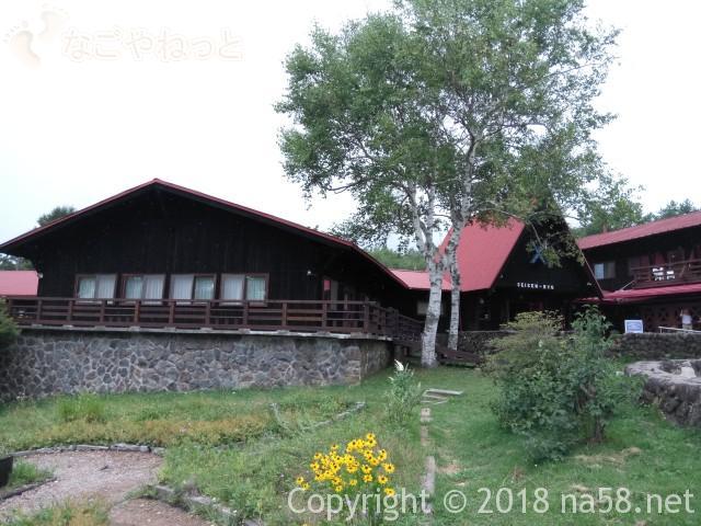 清里清泉寮(山梨県北杜市)の本館、宿泊施設外観