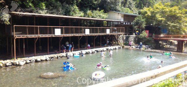 多度天然プール・幼児もOK持ち込みや食事・更衣室完備(三重県桑名市)