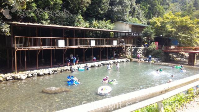 多度天然プール(三重県桑名市)の有料施設見晴らしの台