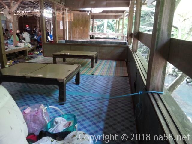 多度天然プール(三重県桑名市)有料1700円の座卓席