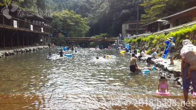 多度天然プール(三重県桑名市)