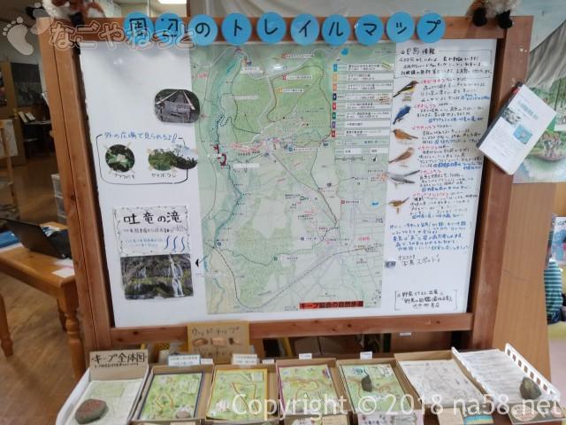 八ヶ岳自然ふれあいセンター(山梨県北杜市)トレイルマップ