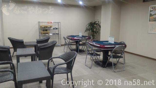 コロナの湯中川店(名古屋市中川区)一階の麻雀設備