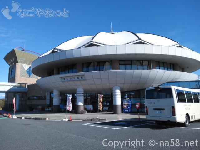 道の駅どんぶり会館(岐阜県土岐市)施設の外観