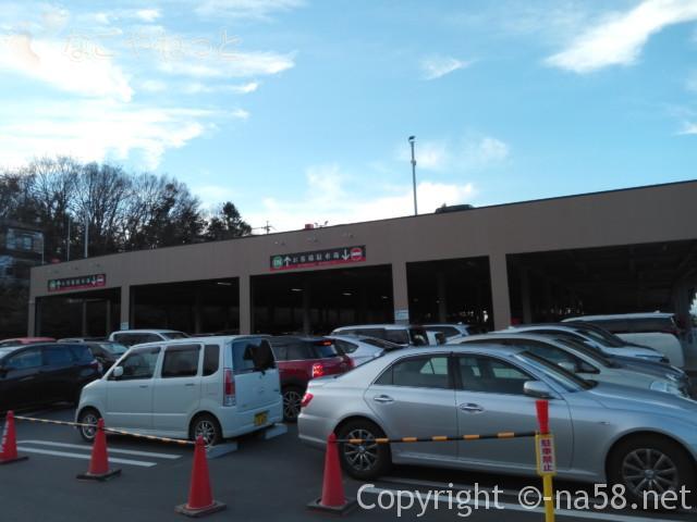 龍泉寺の湯名古屋守山本店 立体大型駐車場