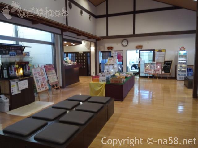 稲沢ぽかぽか温泉の休憩所