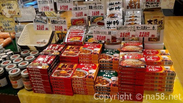 稲沢ぽかぽか温泉のお土産売り場、昭和のかおり