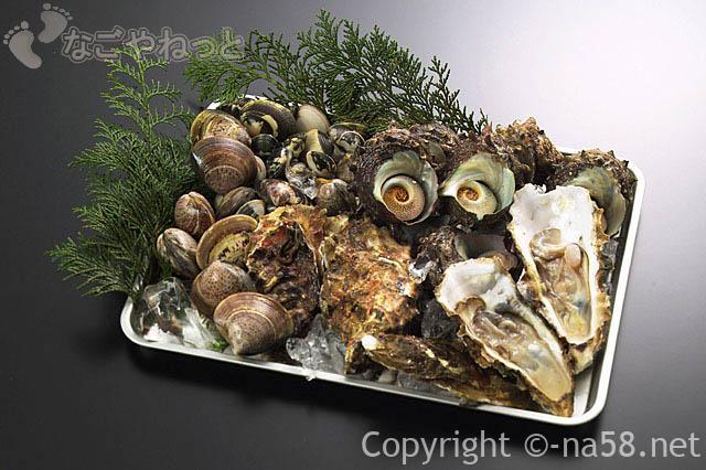 海鮮が食べ放題!名古屋港区で大盤振る舞い?飲み放題も(子供料金あり)貝類の画像