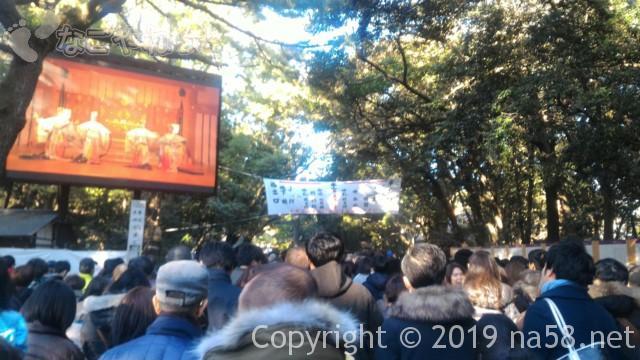 熱田神宮正月3日の初詣の混雑、参拝までの待ち時間