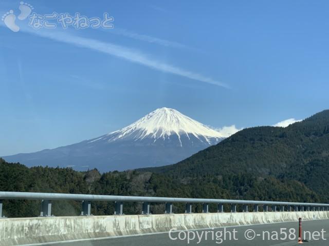 新東名のぼり富士山、2019-03-14 11.13.22