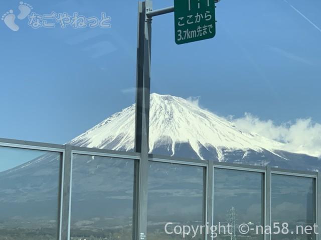 新東名のぼりからの富士山、これで最後2019-03-14 11.20.46