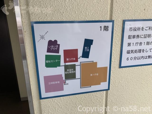 熱海市営中央町駐車場( 静岡県熱海市中央町)・配置図