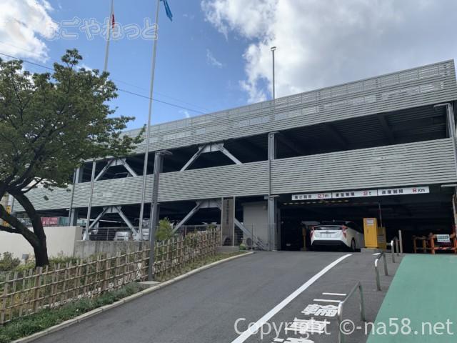 熱海市営中央町駐車場( 静岡県熱海市中央町)入り口の様子