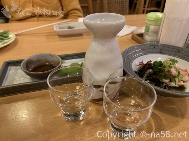 百笑の湯のレストランオーダーバイキング、冷の日本酒