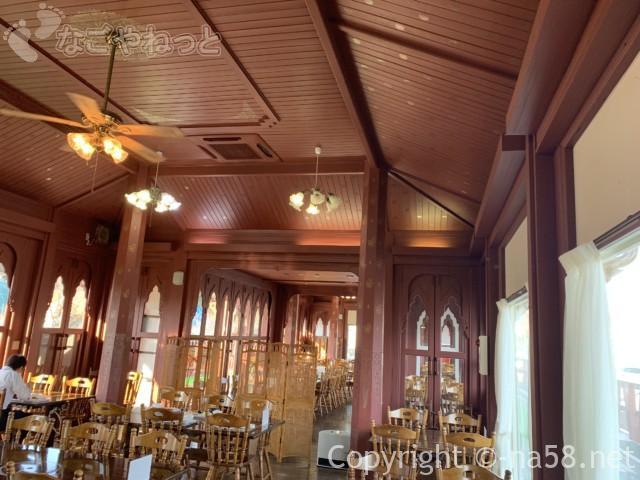 伊豆市時之栖のコテージホテル「オリーブの木」レストランナチュレ