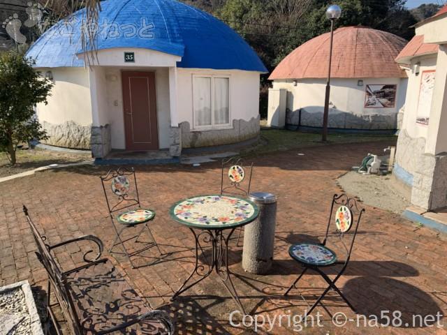 伊豆市時之栖のコテージホテル「オリーブの木」外観