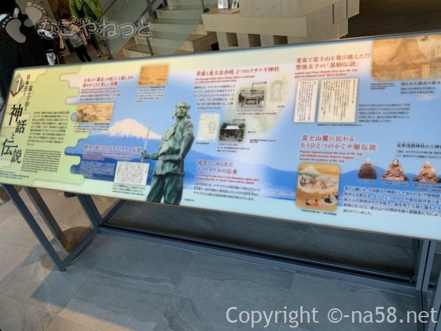 日本平夢テラスの一階歴史絵巻