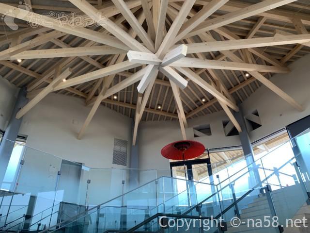 日本平夢テラスの天井