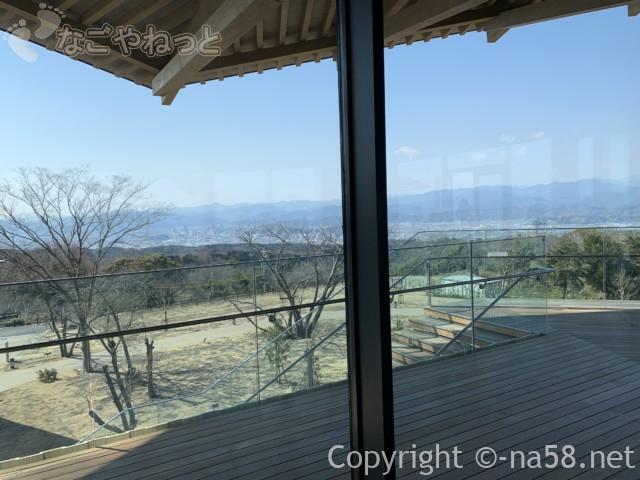 日本平夢テラスの3階、展望テラスからの風景