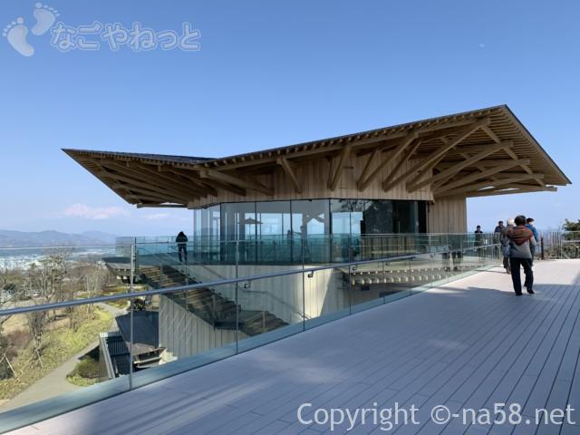 日本平夢テラスの3階、展望テラス